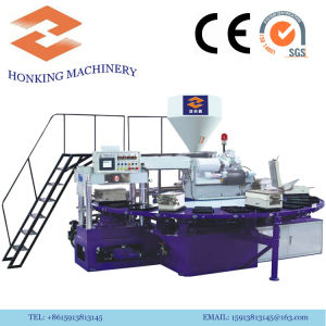 PVC Rotary Machine for Making Plastic Slippers pictures & photos