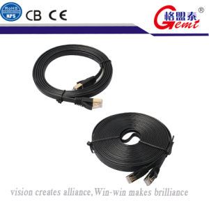 Cat7 Ethernet Cord Flat Cable pictures & photos