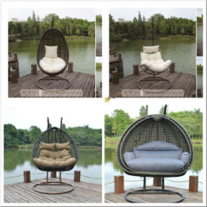 Outdoor & Indoor Rattan Hanging Chair with Stand pictures & photos