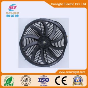 12V 24V 120W Condenser Air-Conditioner Cooling Fan for Car pictures & photos