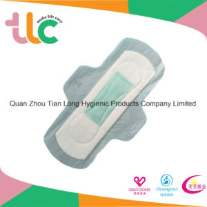 Feminine Product Ultra Thin Disposable Sanitary Pads with Wings