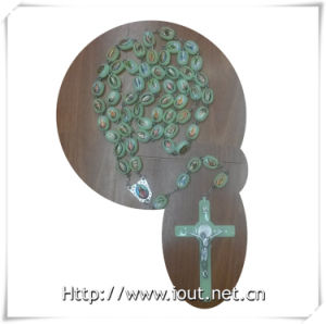 Luminous Beads Catholic Rosary, Luminous Religious Rosary, Plastic Necklace (IO-cr355) pictures & photos
