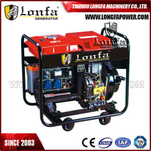 5kv 5kVA 5kw Silent Portable Diesel Generator Price with Wheels pictures & photos
