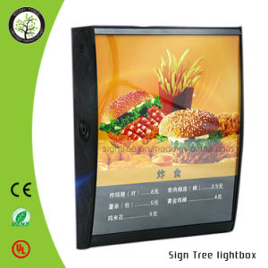 Slim Magnetic LED Acrylic Light Box pictures & photos