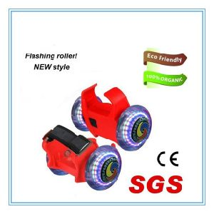 Ce Approved Two Wheel Adjustable Flashing Rollers, Street Glider pictures & photos