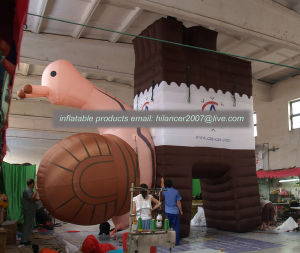 Outdoor Advertising Inflatable Snail Animal Arch pictures & photos
