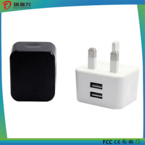 5V 1.2A/2.4A AC/DC USB Power Adapter for iPhone pictures & photos