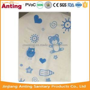 Full Laminated Breathable PE Film Backsheet Raw Material for Baby Diaper pictures & photos