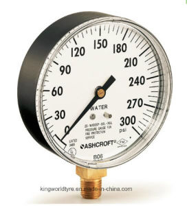 Tyco Ashcroft FM UL 600psi Water Pressure Gauge pictures & photos