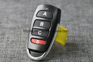 Universal 4 Button Cloning 433MHz RF Electric Garage Door Remote Control Key Fob pictures & photos