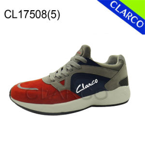 Women Sports Sneaker Running Shoes with Imitation Leather and Phylon Sole pictures & photos