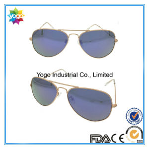 Gold Metal Pilot Nickel Free Sunglasses Best Selling China pictures & photos