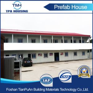 2 Floor Steel Structure Building Prefab House for Temporary Working Office pictures & photos
