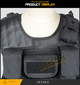1000d Cordura Tactical Vest with Four Ply Nylon Thread pictures & photos