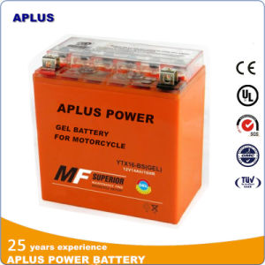 Japan Design Gel Batteries Ytx16-BS 12V 16ah for Motorcycle pictures & photos