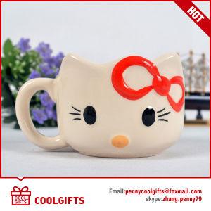 Wholesale Cute Mini Cartoon Ceramic Coffee Mug (CG215) pictures & photos