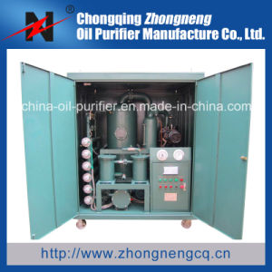 Double-Stage Vacuum Transformer Oil Purification Machine Mounted on Trailer pictures & photos