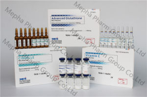 Ele-Gluta Glutathione Injection 50g and 100g for Skin Whitening, Glutathione Injection+Cindelle+Vc pictures & photos