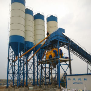 China Supplier Concrete Batching Plant Hzs90 in Jinsheng pictures & photos