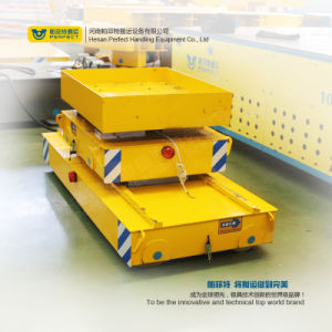 Industry Line Apply Trailer Motorized Production Transfer Bogie pictures & photos