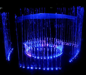 Music Dancing Round and Separated Sections Electric Fountain pictures & photos