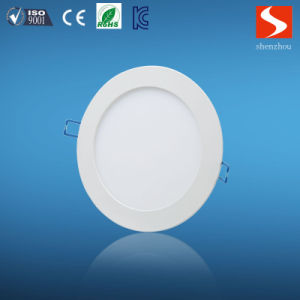 Commercial Indoor White Slim 24W Round LED Panel Lamp pictures & photos