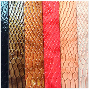 Synthetic PVC Leather for Handbags pictures & photos