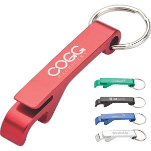 Aluminum Bottle Opener Keyring with Can Tab Lifter pictures & photos