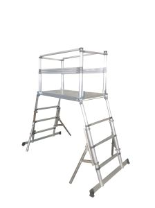Telescopic Scaffolding Tower /Telescopic Scaffolding Ladder pictures & photos