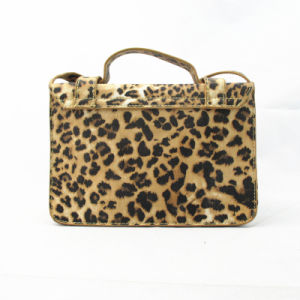 Leopard Print Fashion PU Handbag Cross Body Bag pictures & photos