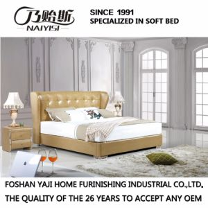 Modern New Design Bed for Bedroom Use (FB3071) pictures & photos