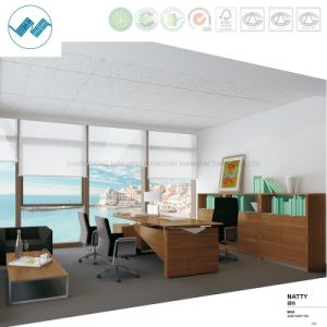 Modern Office Furniture L-Shape Office Desk Melamine Computer Desk (Natty-ED22)