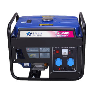 3kVA Portable 4 Stroke Electricity Gasoline Genset (generator) pictures & photos