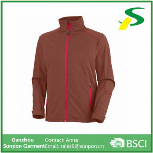 New Design Collar Softshell Jacket for Men pictures & photos