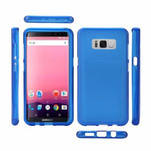 Blue TPU Gel Soft Skin Silicone Protective Case Cover for Samsung Galaxy S8 pictures & photos