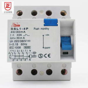 Earth Leakage Circuit Breaker with Ce Certificate pictures & photos