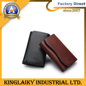Customized Leather Made Money Clip for Souvenir (KMC-001) pictures & photos