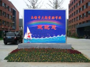 Low Price P10 LED Display Screen for Outdoor Video Advertising pictures & photos