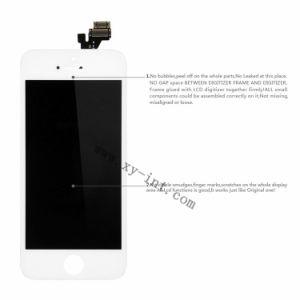 Touch Monitor Screen for iPhone 5 LCD Assembly Replacement pictures & photos