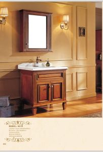 Sanitary Ware Bathroom Cabinet with European Archaize Series (6678) pictures & photos