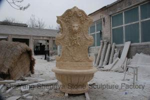 Marble Wall Fountain Stone Fountain Lion Fountain Mf-021 pictures & photos