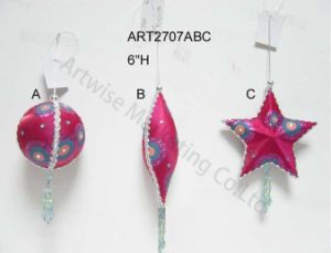 Christmas Tree Decoration Ornament Bead Balls-3ast pictures & photos