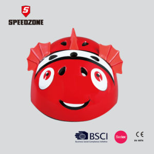 Speedzone in-Mold 3D Animal Shape Helmet for Kids pictures & photos
