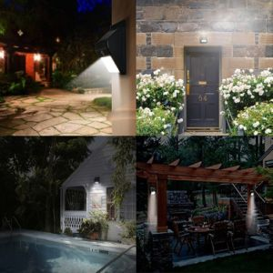 LED Intelligent Solar Body Infrared Sensor Lamp Waterproof Night Light pictures & photos