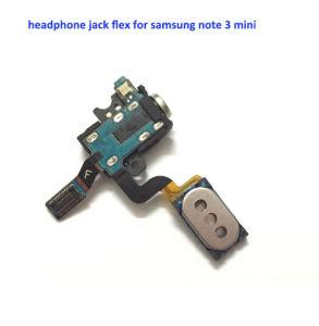 Headphone Jack Flex for Samsung Note 3 Mini pictures & photos