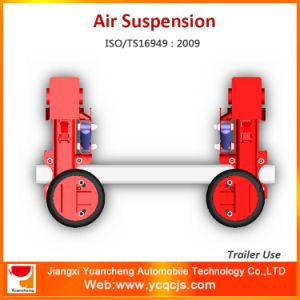 Custom Design Round Axle Semi Trailer Air Suspension pictures & photos