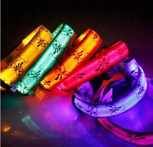 Nylon Webbing Decorative Elastic LED Dog Collar pictures & photos