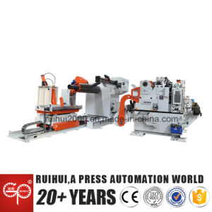 Automati Stamping Machine Hydraulic Feeding Decoiler Nc Straightener Feeder for Press Machine (MAC4-1600H) pictures & photos