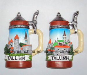Tallinn Tourist of Cup Shape Magnet pictures & photos