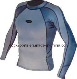 Nylon Long Sleeve Lycra Rash Guard pictures & photos